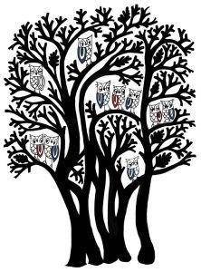 Owls in Tree by Charlene Mullen