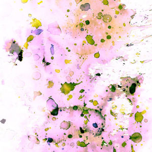 Pastel Splatter by Amy Sia