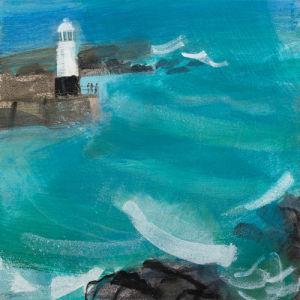 Watching Winter Seas by Emma Jeffryes