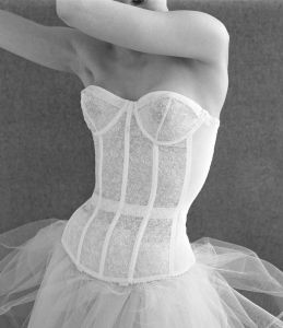Waspie corset by John French