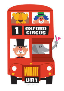 Circus Bus by Sean Sims