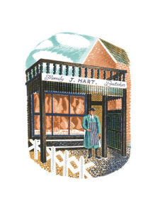 Family Butcher by Eric Ravilious