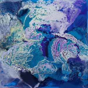 Ultra Blue VI by Fintan Whelan