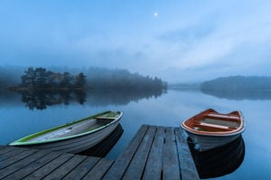 Dawn at the Lake by Benny Pettersson