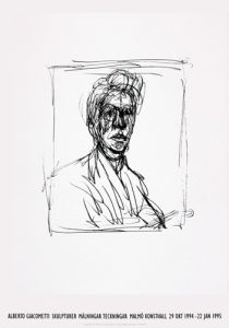 Self-Portrait by Alberto Giacometti