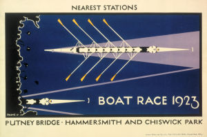 Boat Race, 1921 by Charles Paine
