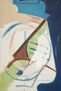 North East, 1963 by Peter Lanyon