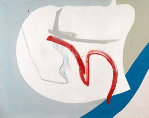 Near Cloud, 1964 by Peter Lanyon