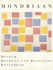Composition with Color Planes by Piet Mondrian