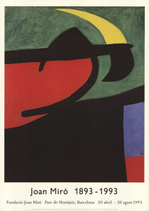 Catalan Peasant in the Moonlight by Joan Miro