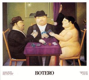 Card Players (I Giocatori di Carte) by Fernando Botero