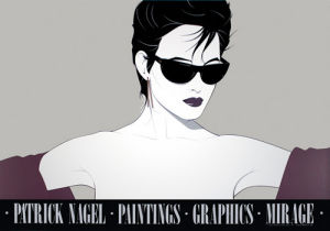 Sunglasses by Patrick Nagel
