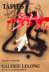 Galerie Lelong (1988) by Antoni Tapies
