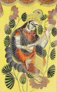 Saraswati, c.1860 by Unknown artist