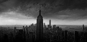 New York Rockefeller View by Wim Schuurmans