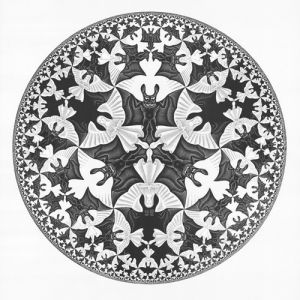 Circle Limit IV by M.C. Escher