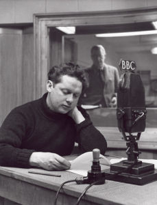 Dylan Thomas, July 1948 by John Gay