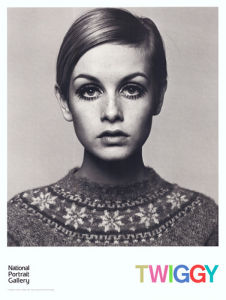 Twiggy, 1966 by Barry Lategan