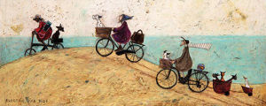 Electric Bike Ride by Sam Toft