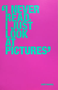 I never read (Special Edition) by Andy Warhol