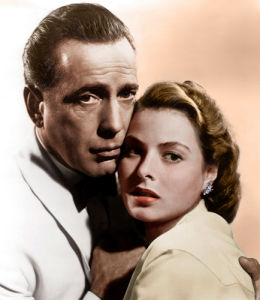 Bogart and Bergman (Casablanca) by Hollywood Photo Archive