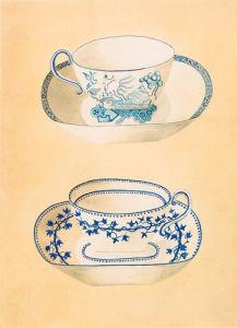 Tea-cups II by Nigel Cladingboel