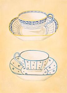 Tea-cups IV by Nigel Cladingboel