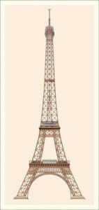 Paris - Tour Eiffel by Anonymous