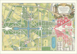 Versailles - Plan du Parc by Anonymous