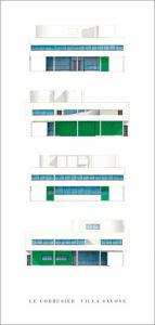 Le Corbusier - Villa Savoye by Le Corbusier