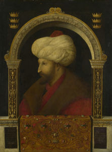 The Sultan Mehmet II by Gentile Bellini