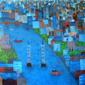 Patchwork City by Emma Brownjohn