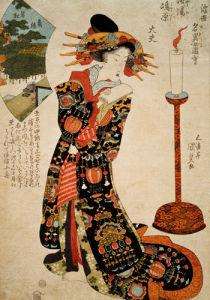 Pine Tree of Sumi-ya and Tayu of Shimabara, Kyoto by Utagawa Kunisada
