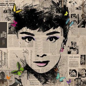 Audrey - Butterflies 3 by VeeBee