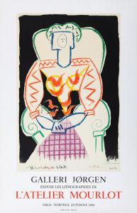 La Femme au Fauteuil, 1984 by Pablo Picasso