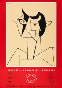 Collages - Aquarelles - Gouaches by Pablo Picasso