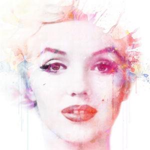 Watercolour Marilyn by VeeBee