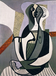 Seated Woman, 1927 by Pablo Picasso