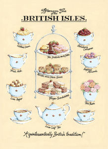 Afternoon Tea by Kelly Hall