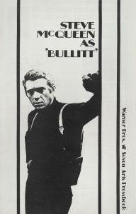 Bullitt (trade ad) by Cinema Greats
