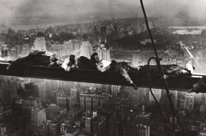 Men Asleep on a Girder 1932 by Charles C. Ebbets