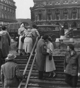 The Kiss at the Opera House by Robert Doisneau