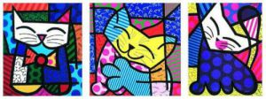 Fluffy Friends by Romero Britto
