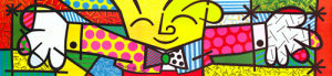 The Hug by Romero Britto