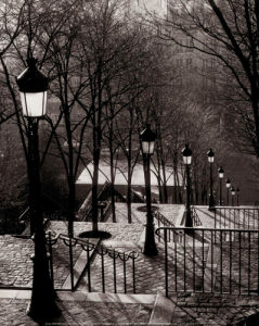 Escalier Montmartre by Sonja Van Willingen