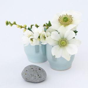 Gris, bleu et blanc by Catherine Beyler