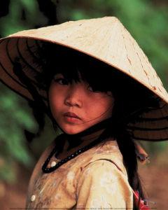 Filette vietnamienne, Saigon by Keren Su