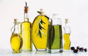 Bottles of olive oil by Atelier