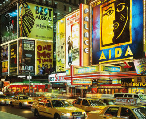 Traffic at Times Square, New York City, USA by Tomii