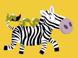 The Zebra by Nathalie Choux